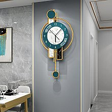 HCCTOZZ Decorative Wall Clock Modern Design Large