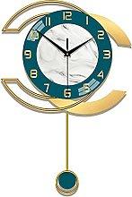 HCCTOZZ Decorative Wall Clock Modern Design Wall