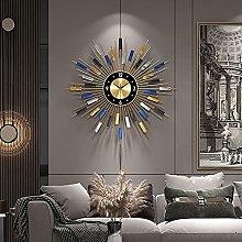 HCCTOZZ Decorative Wall Clock Modern Large Living