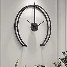 HCCTOZZ Decorative Wall Clock Modern Large Wall