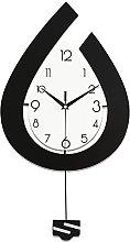HCCTOZZ Decorative Wall Clock Wooden Wall Clock