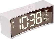 HCCTOZZ Digital Alarm Clock with Electronic LED