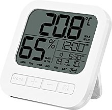 HCCTOZZ Digital Clock, Suitable for Bedroom,