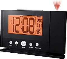 HCCTOZZ Digital Projection Alarm Clock with