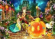 HCDZF DIY Paint by Numbers Adult Cinderella