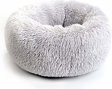 HCMNME Deluxe Soft Cat Bed, Cat Bedding Small and