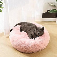 HCMNME Deluxe Soft Cat Bed, Pink PET Bed - Dog