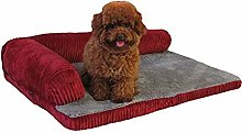 HCMNME Deluxe Soft Dog Bed, Deluxe Extra Large