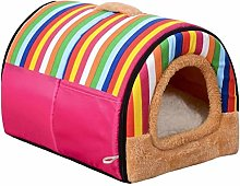 HCMNME Deluxe Soft Dog Pet Bed, 2 in 1 Pet Dog Cat