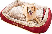 HCMNME Medium Dog Cat Pet Bed Pillow ,Super Soft