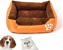 HCMNME Warm Soft Comfortable Pet Bed Sofa Bed,Dog