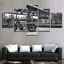 HD Canvas Print Wall Painting Art Motor Road Rash