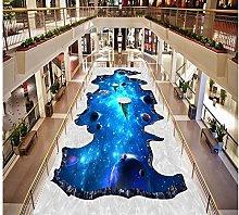 Hd Custom 3D Wallpaper PVC Starry Sky Floor