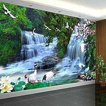 Hd Waterfalls Nature Scenery Photo Mural Wallpaper