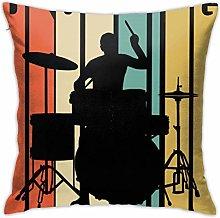 Hdadwy 1970'S Style Drumming Legend Retro