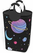 Hdadwy Color Planet 50L Large Laundry Basket with