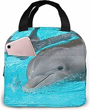 Hdadwy Dolphin and Its Baby Fashion Insulated