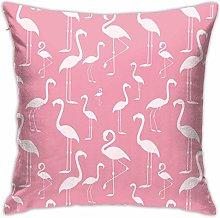 Hdadwy Flamingos Hidden Zipper Home Sofa