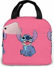 Hdadwy Happy Stitch Insulated Lunch Box Bag Cooler