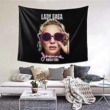 Hdadwy Lady Gaga Joanne Decorative Wall Blanket