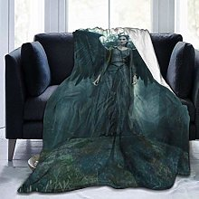 Hdadwy Maleficent Flannel Blanket Super Soft and