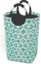 Hdadwy Moon Print 50L Large Laundry Basket with