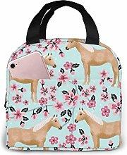 Hdadwy Palomino Horse Insulated Lunch Bag Bento