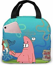 Hdadwy Patrick Jellyfish Insulated Lunch Box Bag