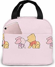 Hdadwy Pooh Insulated Lunch Box Bag Cooler