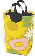 Hdadwy Sunflower Painting 50L Large Laundry Basket