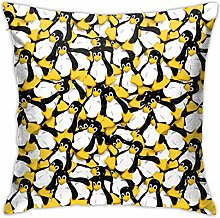 Hdadwy Tux The Linux Penguin Hidden Zipper Home