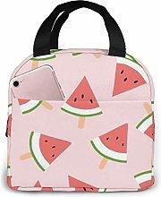 Hdadwy Watermelon Portable Insulated Lunch