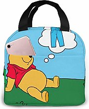 Hdadwy Winnie The Pooh Pants Insulated Lunch Box