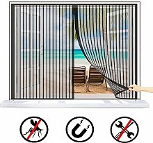 HDB Magnetic Fly Screen for Window Mesh,
