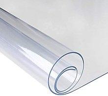 HDGZTransparent PVC Tablecloth,Chair Mat For