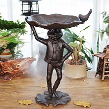 HDOUBR European cast Iron Crafts Frog Prince