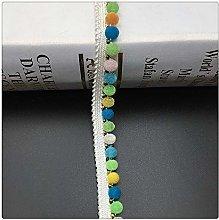 Hdsght Pom Pom Fringe Trim Lace Sewing Ribbon -