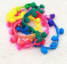 Hdsght Pom Pom Fringe Trim Sewing Ribbon - Gradual