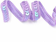Hdsght Sequins Trim Lace Ribbons Braid Sewing
