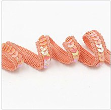 Hdsght Sequins Trim Lace Ribbons String Upholstery