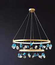 HE&DONG Ring Led Crystal Pendant