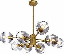 HE&DONG Sputnik Molecules Chandelier,E27 Golden