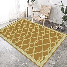 he rug house rug. Yellow carpet, diamond pattern