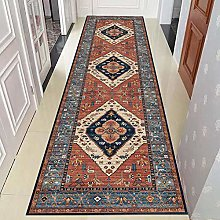 HE TUI Vintage Extra Long Runner Rug for Hallway,
