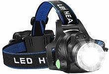 Headlamp Flashlight, USB Rechargeable Led Head