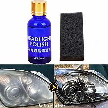 Headlight Restorer Kit,Auto Headlight Cleaning