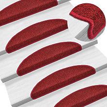 Healey Bordeaux Red Stair Tread by Brayden Studio