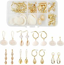 Healifty 75Pcs Earrings Jewelry Making Kit Set