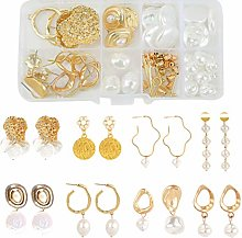 Healifty 85Pcs Earrings Jewelry Making Kit Set