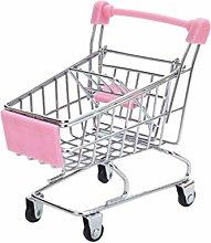 HEALLILY Mini Shopping Cart Supermarket Handcart
